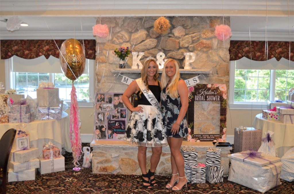 Bride To Be and Sister at Bridal Shower