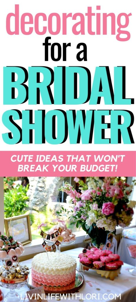 Cute Decorating Ideas For A Bridal Shower