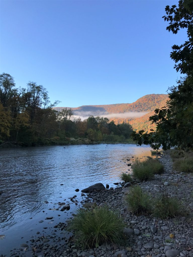 Esopus Creek at Sleepy Hollow Campgrounds