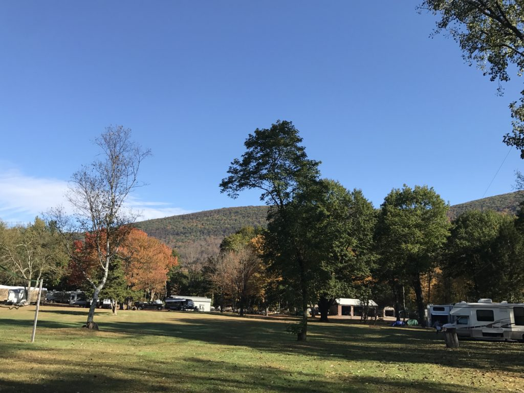 Fall camping at Sleepy Hollow Campgrounds