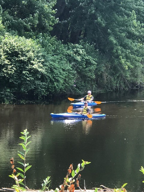 Kayaking At Ashuelot River Campground