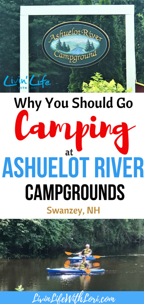Ashuelot River Campgrounds is a great family campground in Swanzey, NH. #RV #rvcamping #rvtravel #rvlifestyle