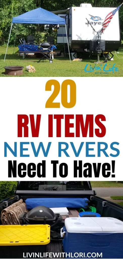20 RV Items New Campers Need To Have