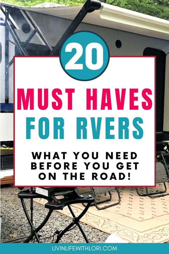 Beginning RVers need to have these 20 Must Haves For Their New RV