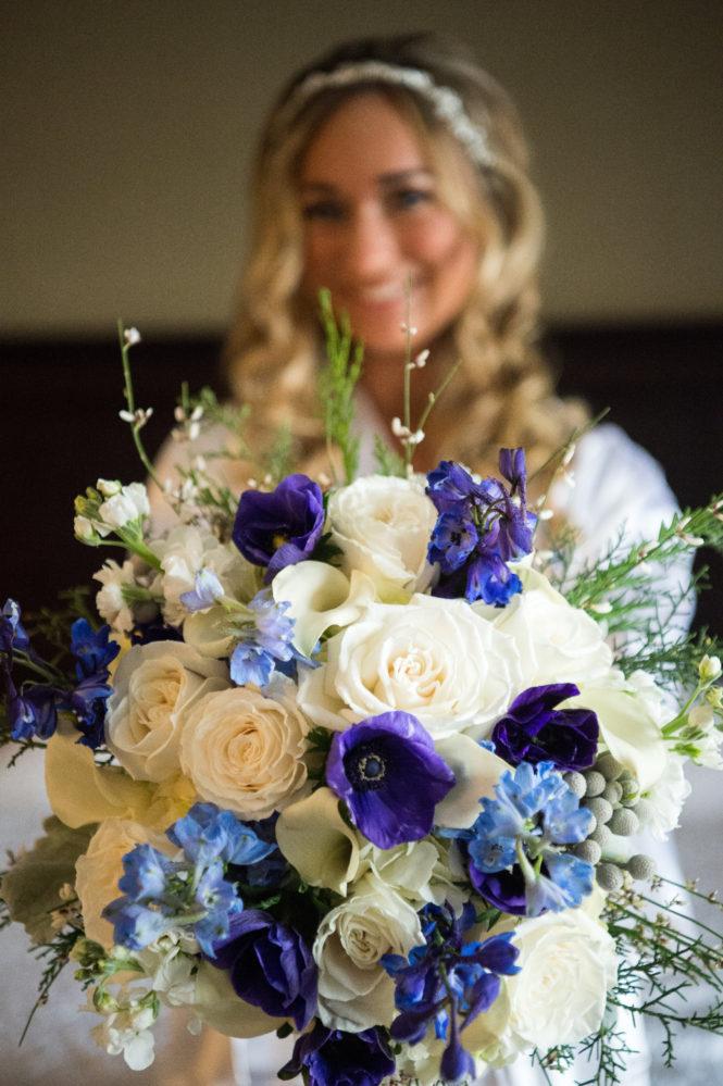 Winter Wonderland Wedding Bouquet