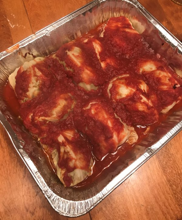 Easy Stuffed Cabbage Rolls
