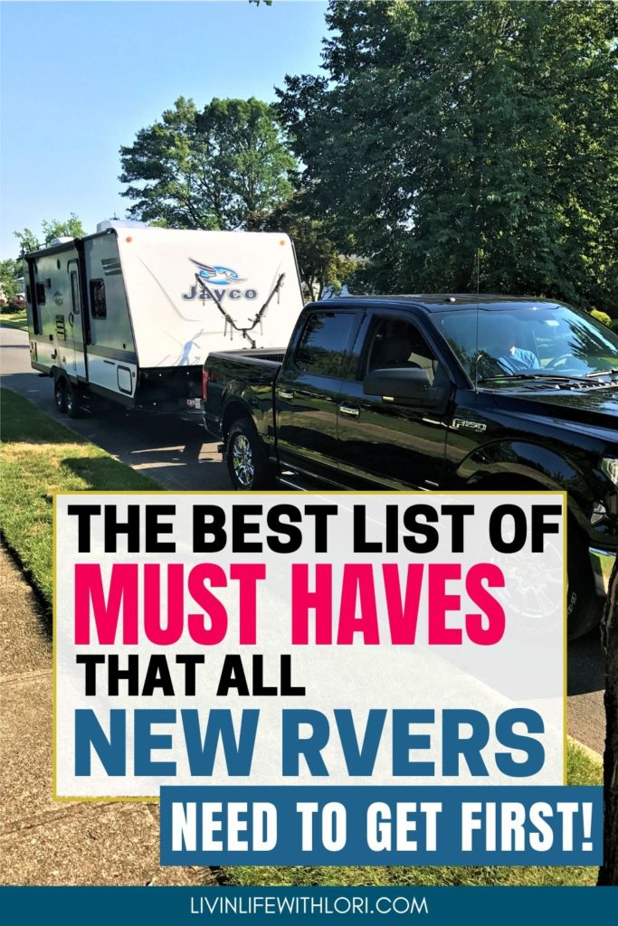 Best List Of Must Haves All New RVers Need To Get First