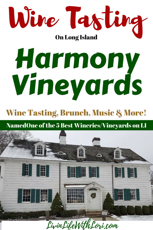 Wine Tasting at Harmony Vineyards Long Island