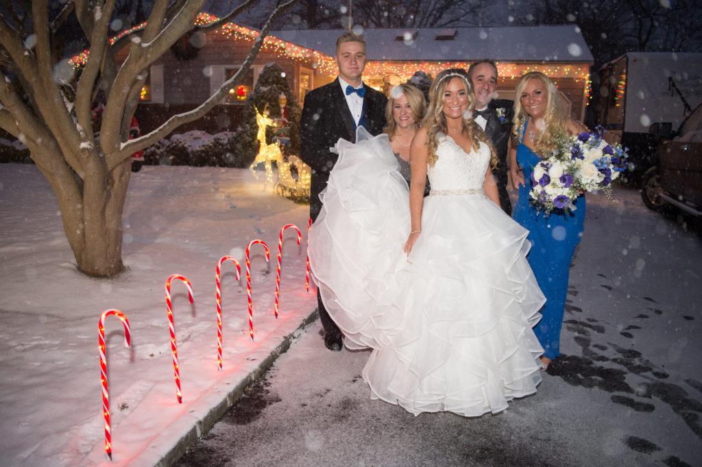 Wedding Snowstorm
