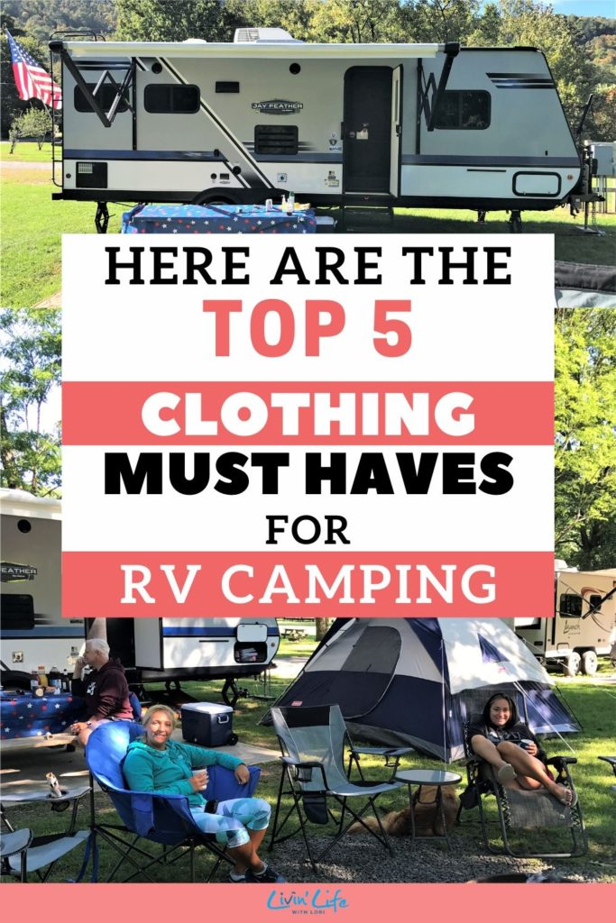 Top 5 RV Clothing Must Haves You Need For RV Camping