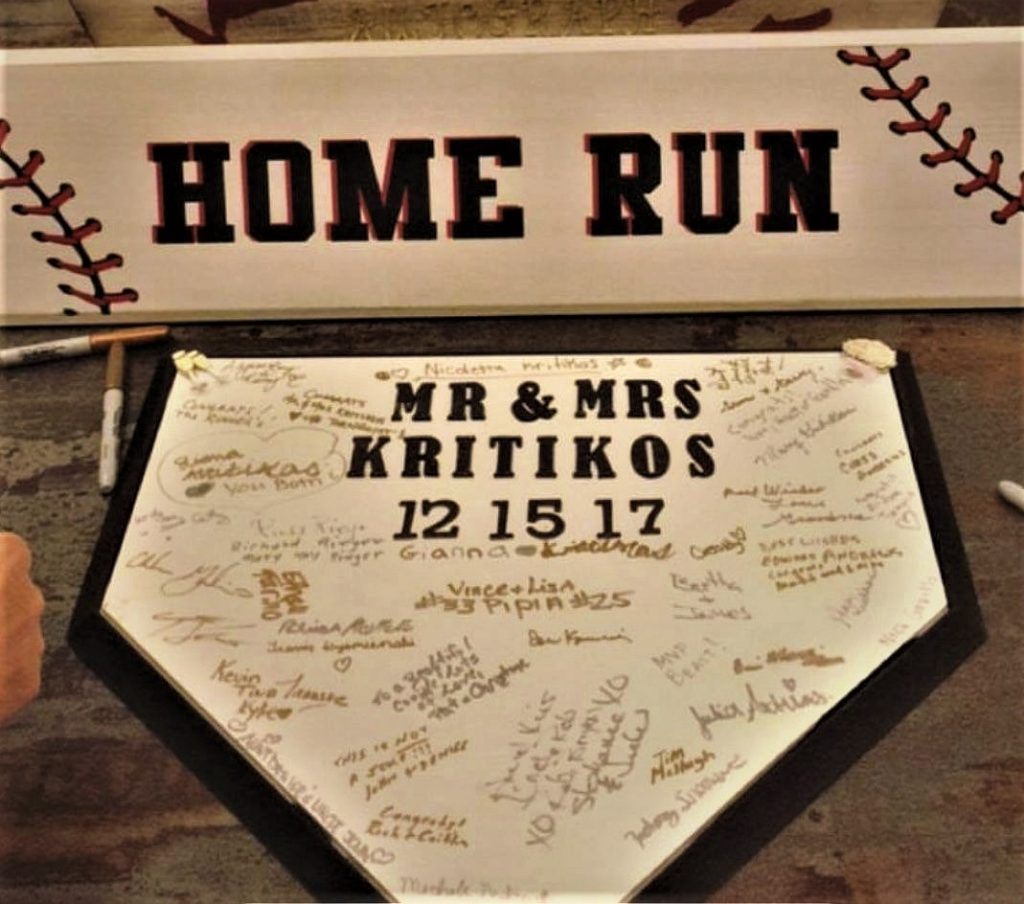 Home Plate Guest Book