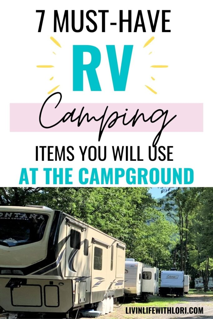 Must Have travel trailer items