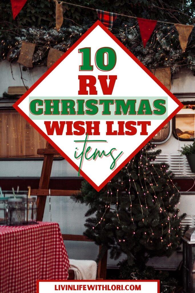 Christmas RV Wish List Gifts