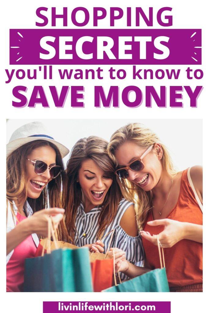 Shopping Secrets To Save Money