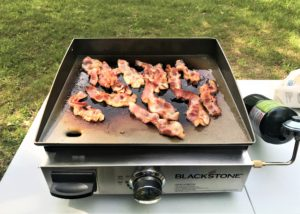 Bacon on the Blackstone Grill
