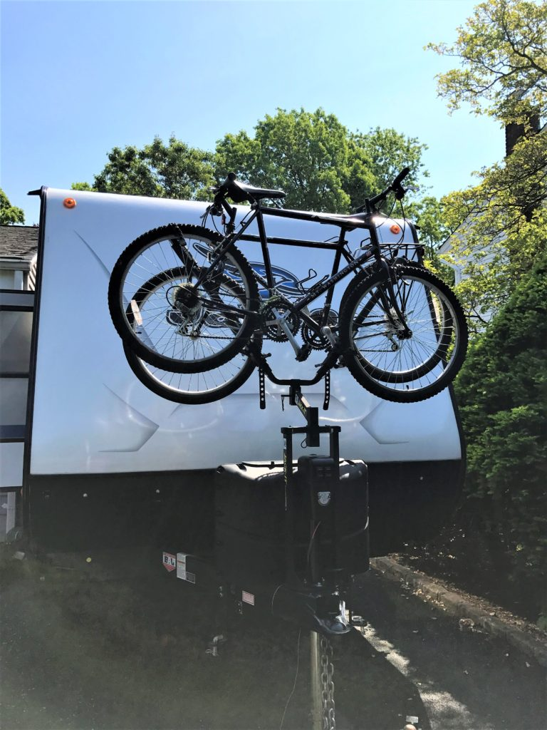Bikes on our Jayco
