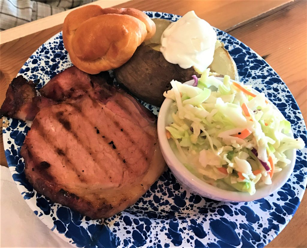 The Bread Bowl Smoked Pork Chop
