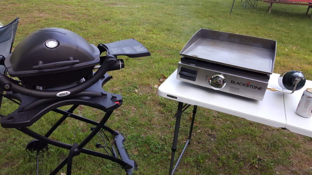 Grillin at Sleepy Hollow Campgrounds