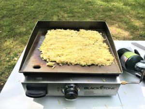 Hashbrowns on the Blackstone