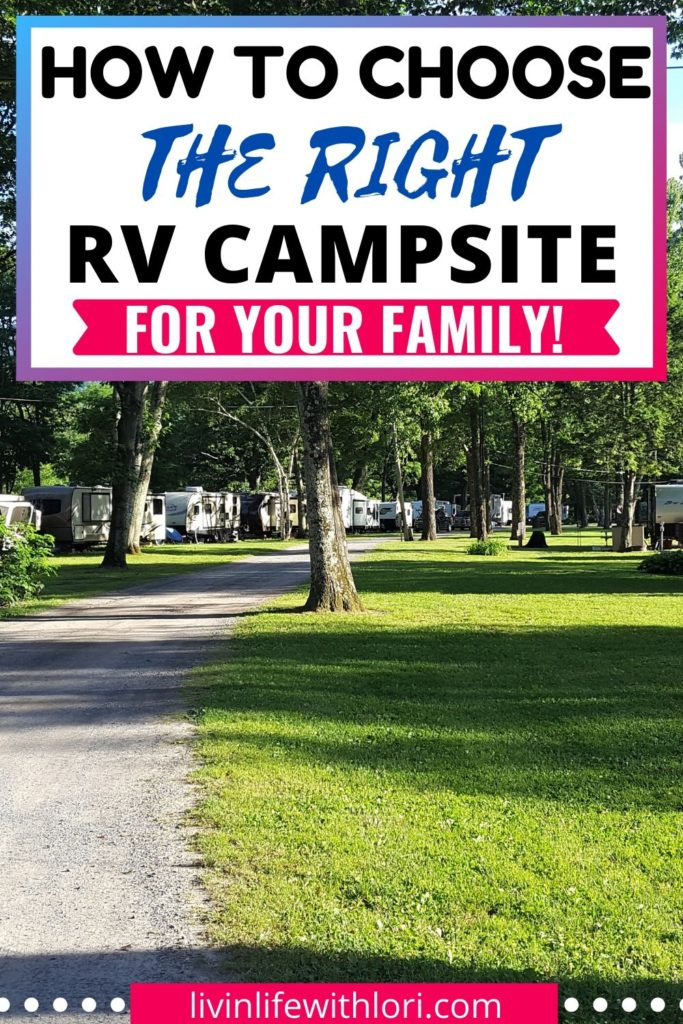 How to choose the best RV campgrounds