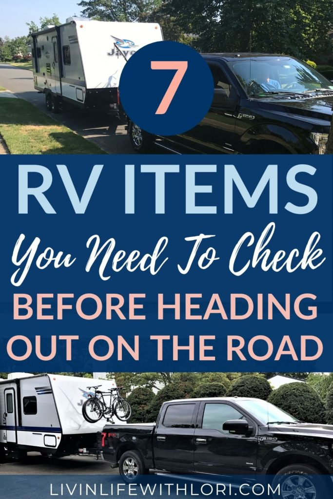 7 RV Items You Need To Check