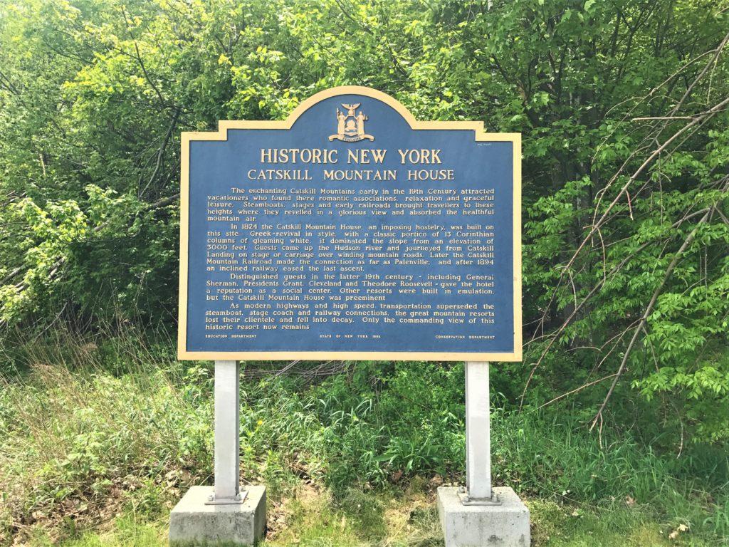 Catskill Mountain House Sign