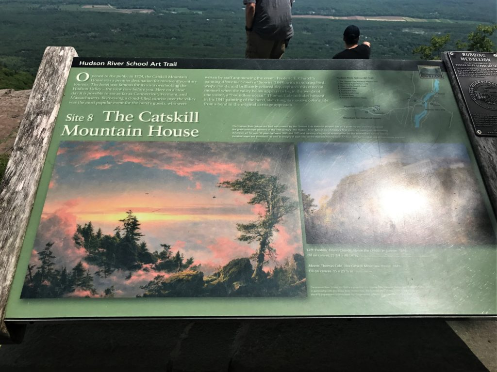 Catskill Mountain House Signage