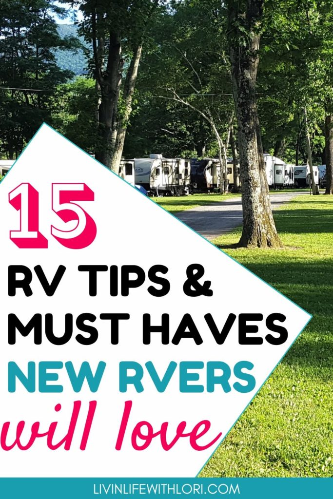 The Best RV Tips and Must Haves For New RVers