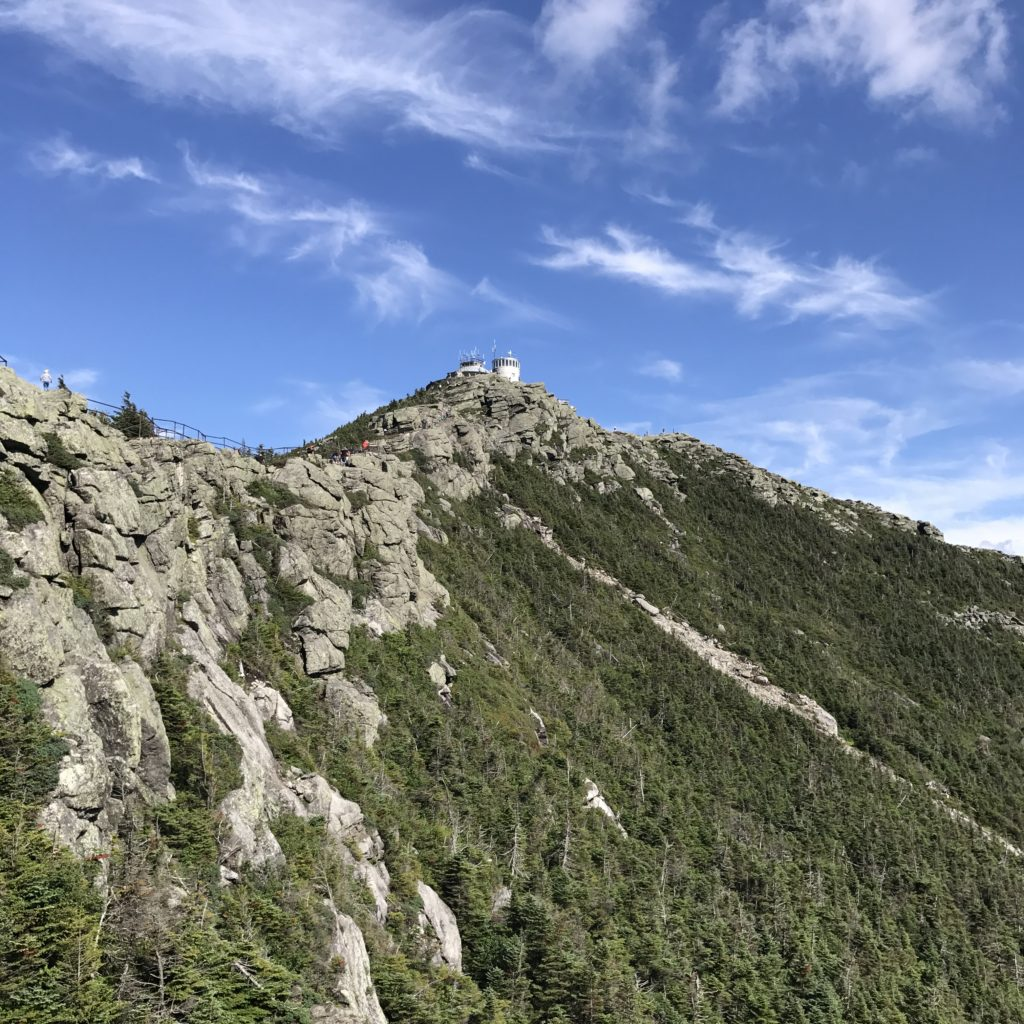 The Top of Whiteface Summit