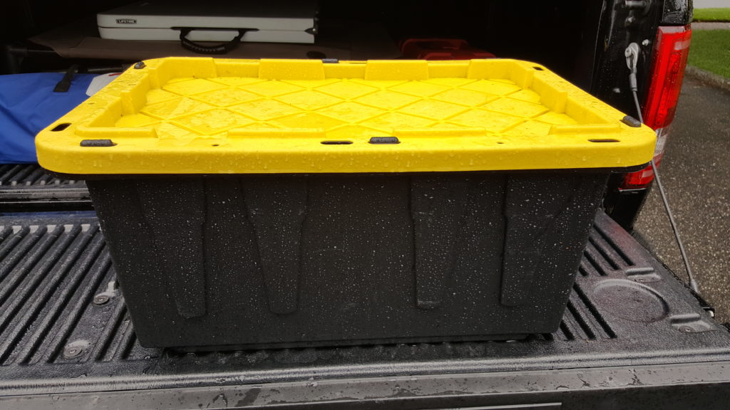 RV Must Have Storage Container for Hoses