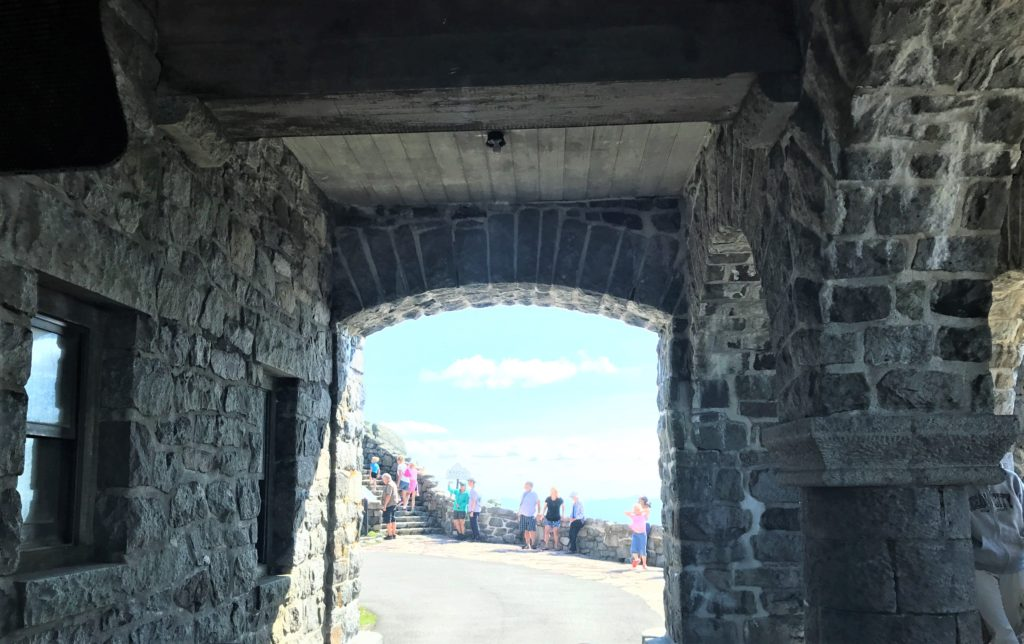 Tunnel Through The Castle Whiteface Mountain