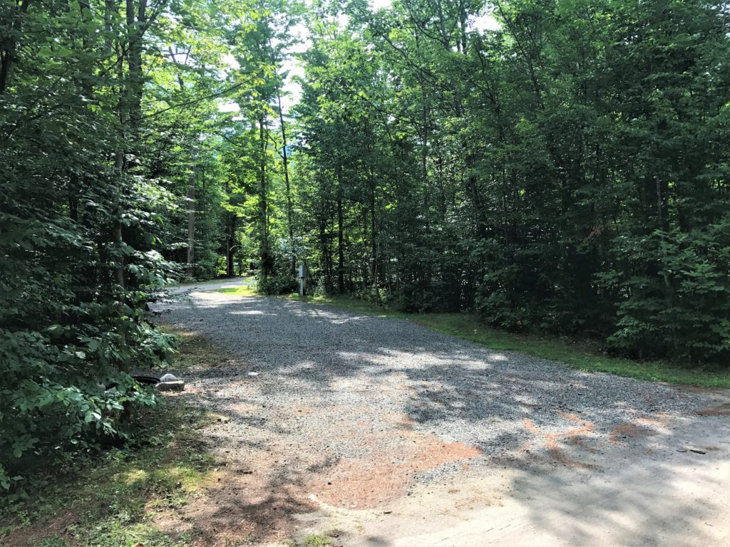 100 Acre Woods Large Pull Through campground sites