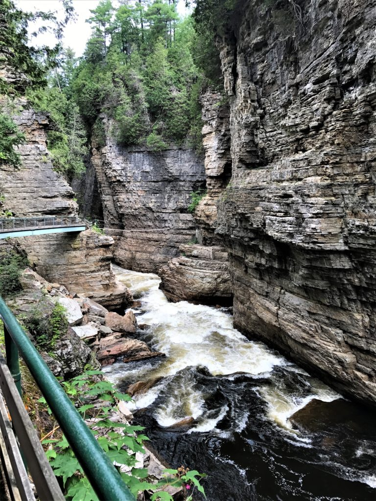 Ausable Chasm View