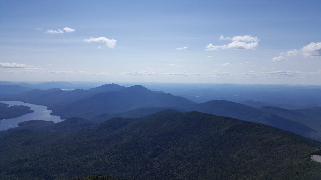 Awesome view from Summit of Whiteface Mountain