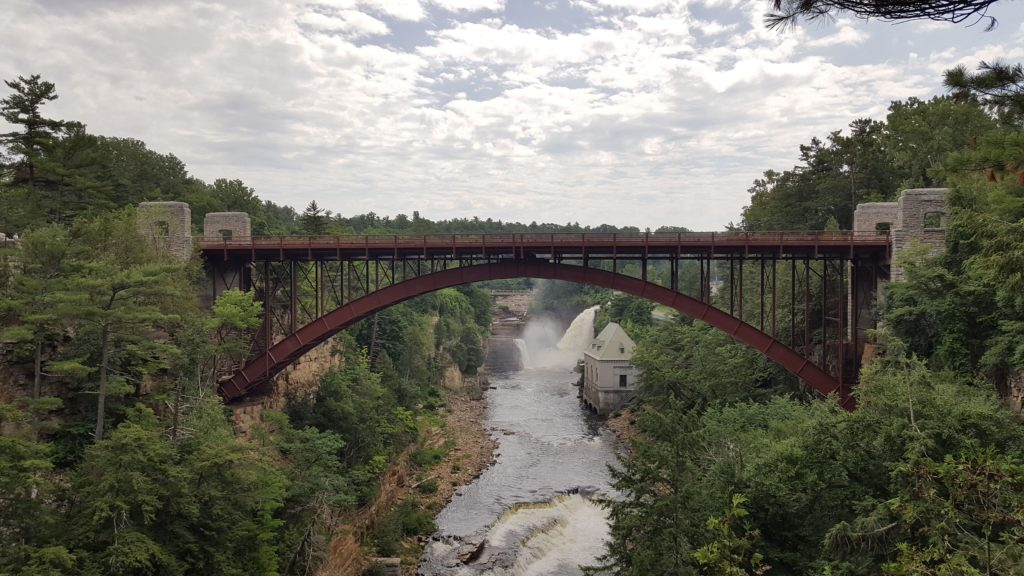 Bridge at Ausable Chasm