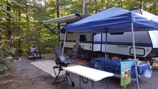Campsite at North Pole Resorts