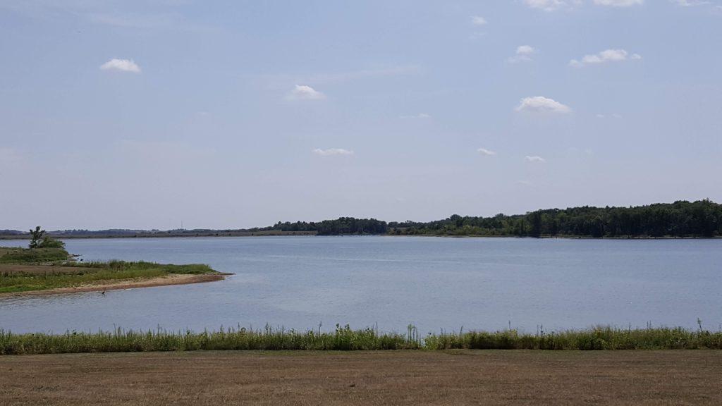 Campsite by Mozingo Lake
