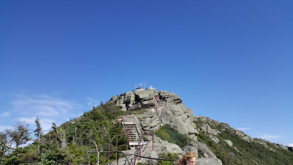 Climb To The Top of Whiteface Mountain