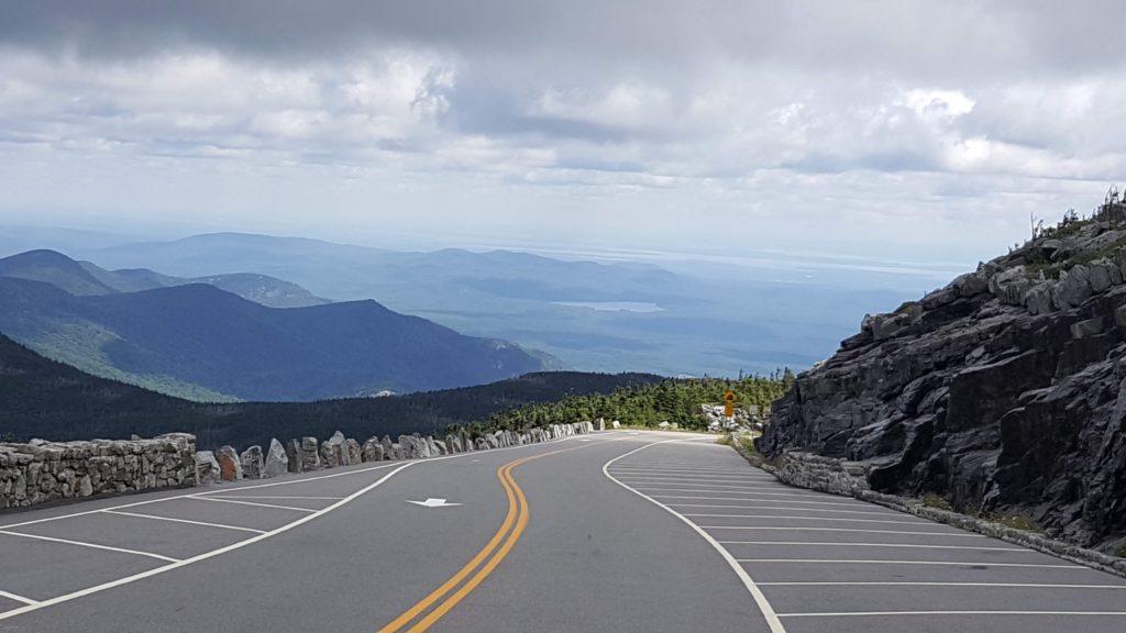 Drive down the Summit