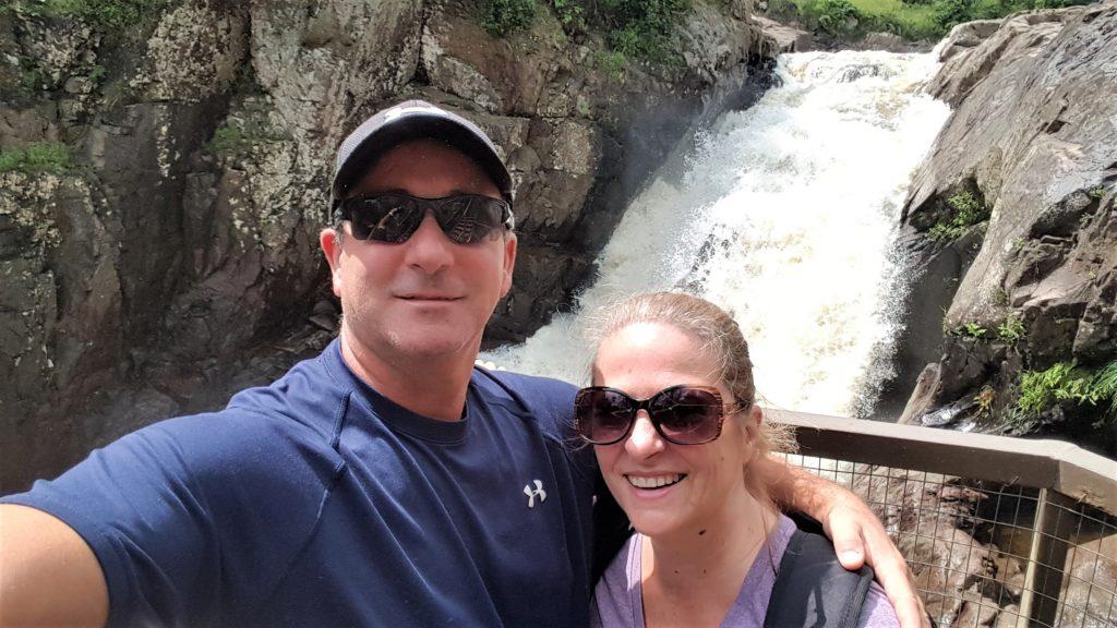 First Photo Op High Falls Gorge