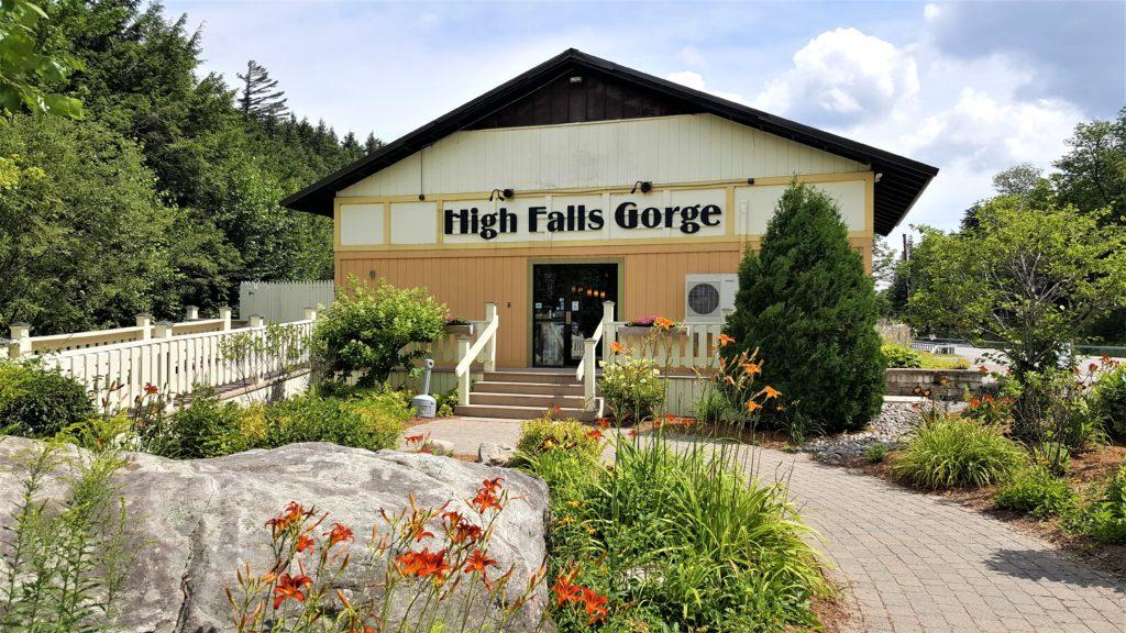 High Falls Gorge Entrance