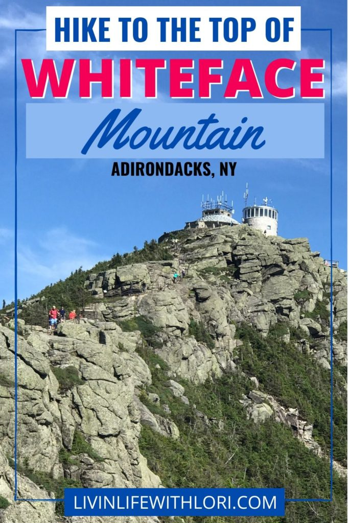 Hike To The Top of Whiteface Mountain