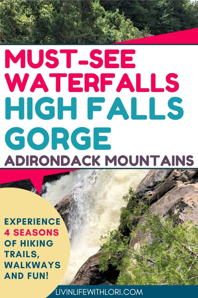 Must See Waterfalls at High Falls Gorge