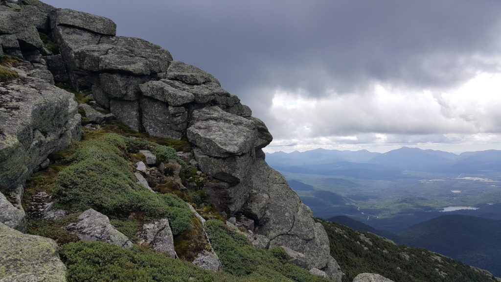 On the Trail To Whiteface Mountain Summit