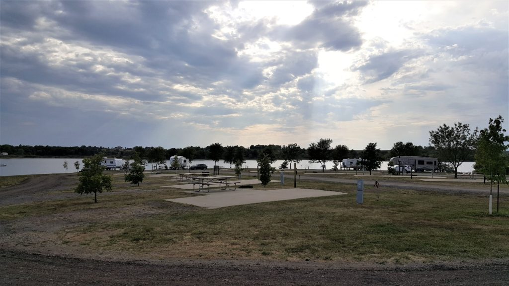 RV Campground Mozingo Lake