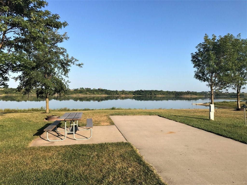 RV Site at Mozingo Lake
