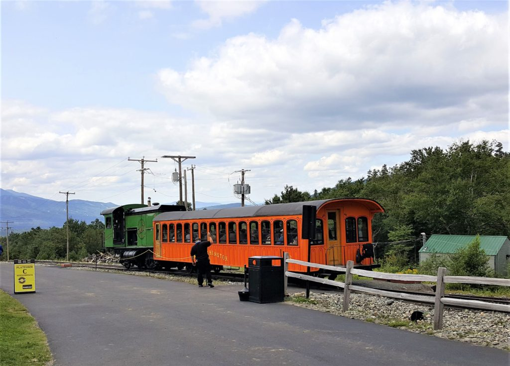 Cog Railway Train Mt. Washington