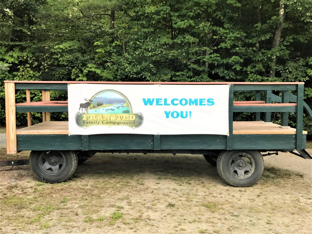 Fransted Family Campground Wagon Rides