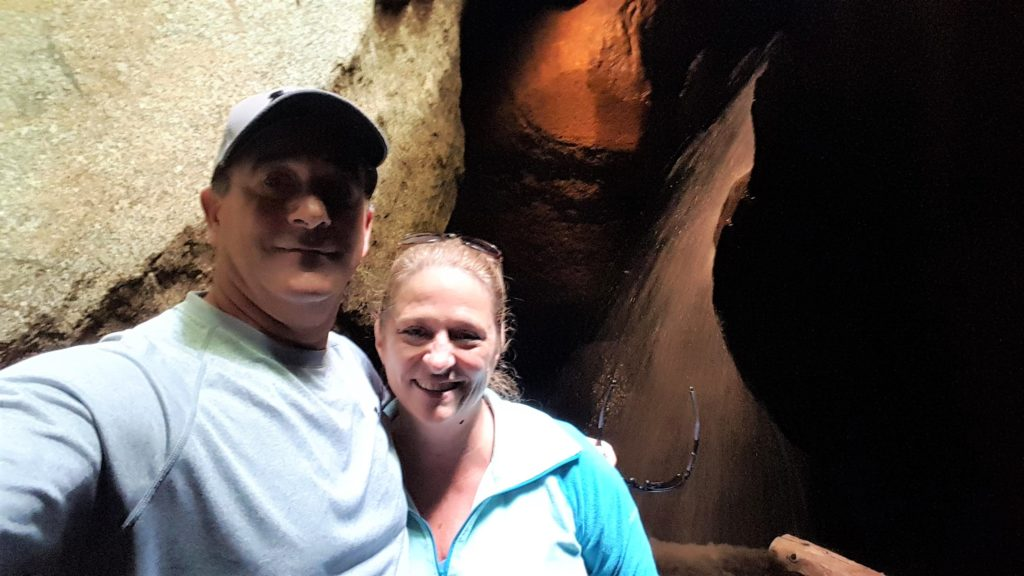 Inside the Cave at Lost River Gorge