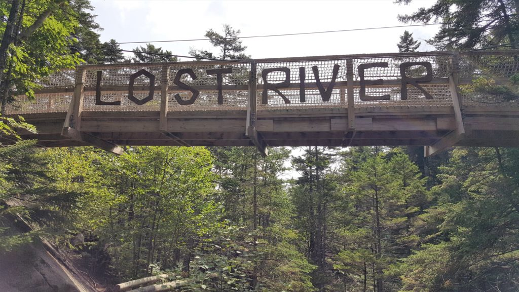 Lost River Gorge Bridge